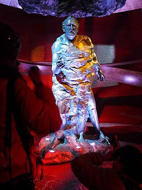 アドルフ・グイヤー・ツェラー氏の像