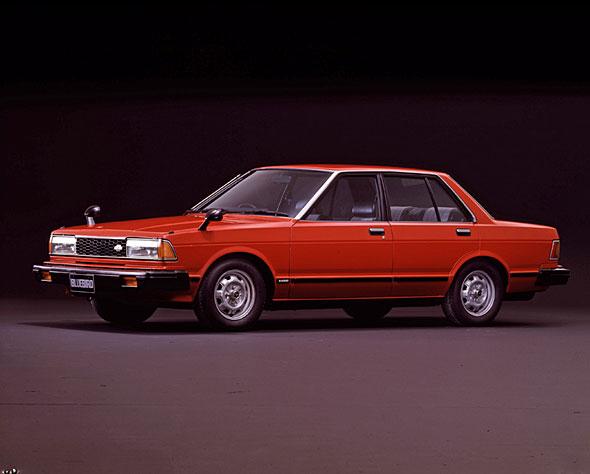 1979年にデビューした910型ブルーバードは大ヒットを記録した