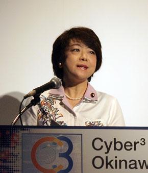 先の内閣改造で沖縄担当相となった島尻安伊子氏