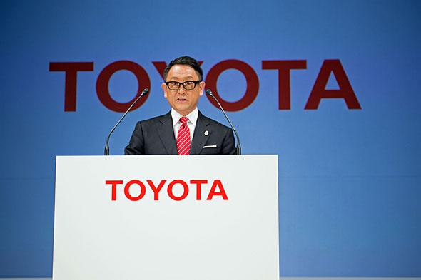 豊田創業家一族の御曹司でもある豊田章男社長。TNGAを成功させれば日本自動車史上に名前を残すことになるかもしれない
