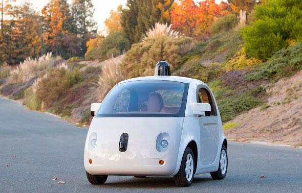 Googleが公開した自動運転カーのプロトタイプ