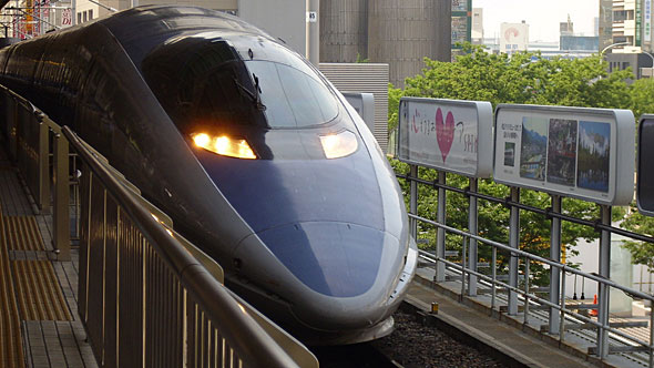 500系新幹線車両