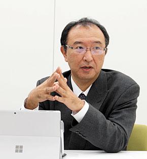 日立システムズ ネットワークサービス事業部 ネットSaaS推進本部 本部長の服部太郎氏