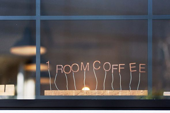 中板橋の「1 ROOM COFFEE」