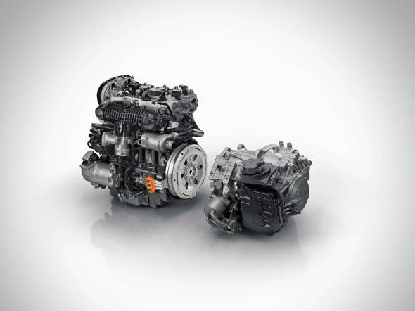 ボルボがDRIVE-Eと名付けたモジュール・エンジン・シリーズで最強の出力を持つハイブリッドユニット
