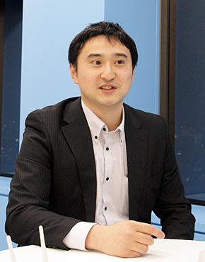 バッファロー コーポレート営業部の加藤勇人氏