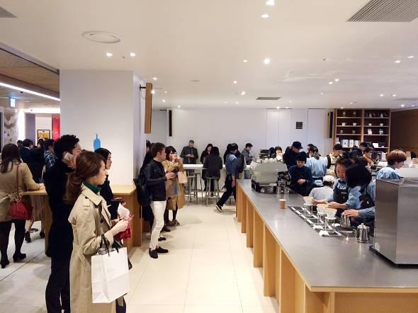 2016年3月末にオープンした新宿店