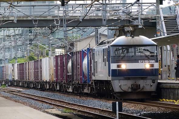 臨時貨物列車は5トン積みコンテナ50個、250トンを輸送可能(写真はイメージ、出典:flickr)