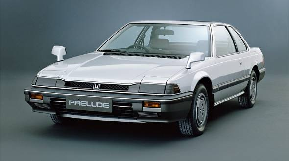 1982年にデビューしたホンダの大ヒットモデル、プレリュード。写真のXXは豪華グレード、一方XZはスポーツ性を前面に押し出したグレードだった