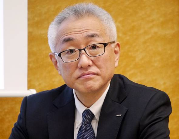 オムロンヘルスケアの荻野勲社長