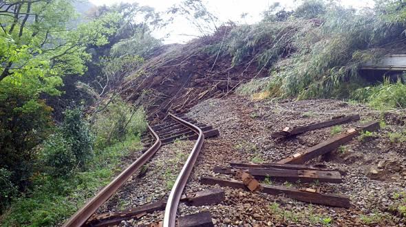 南阿蘇鉄道の被害は甚大(出典:南阿蘇鉄道公式サイト)