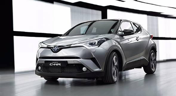 トヨタが2016年3月のジュネーブ・モーターショーで発表したC-HR