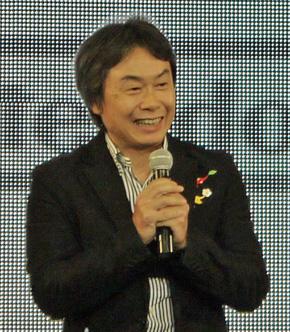任天堂の宮本茂専務取締役(写真は2014年1月撮影)