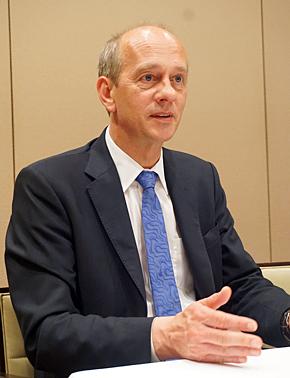 SAS InstituteのGlobal Manufacturing Industry Practiceでシニアディレクターを務めるゲハード・アルトマン氏