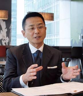 新生PIグループ代表 兼 新生銀行 常務執行役員の小座野喜景氏