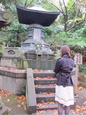 和宮のお墓にて