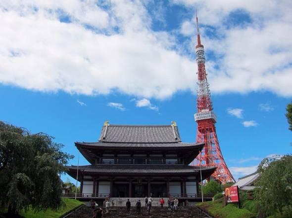 徳川家の菩提寺、増上寺