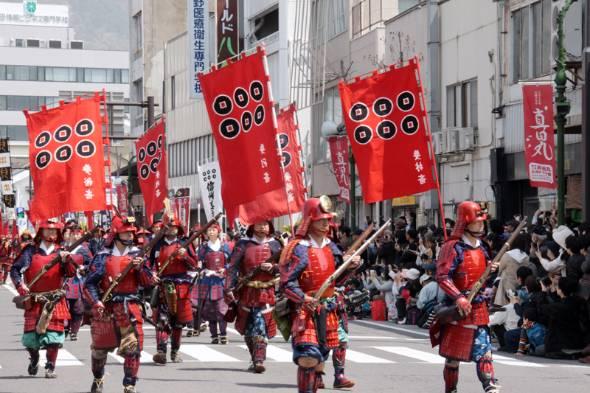 今年4月に開催された「上田真田まつり」