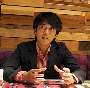 横浜中華街発展会協同組合の石河陽一郎氏