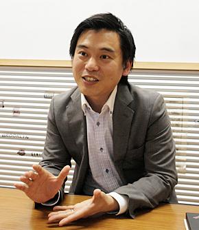 エー・ピーカンパニー マーケティング本部 本部長 兼 副社長室 室長の山本芳樹氏