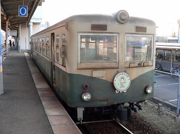 紀州鉄道の気動車(2004年11月当時)