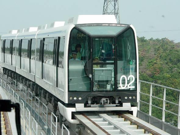 近距離形浮上式リニアモーターカー「リニモ」もATO採用路線