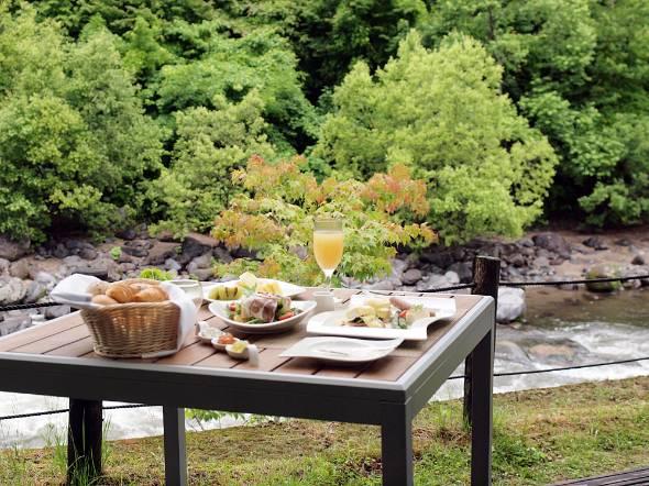 渓流モーニングカフェ