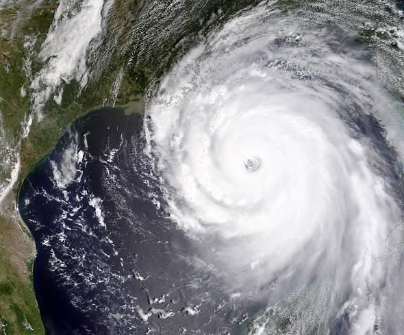 2005年、深刻な被害を米国にもたらしたハリケーン「カトリーナ」(出典:NASA)