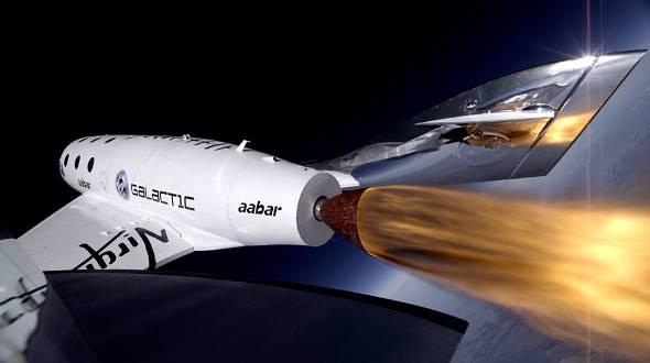 Virgin Galacticの宇宙船「スペースシップ2」