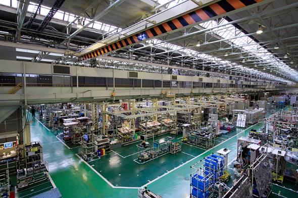 大みか事業所にある工場内部の様子(写真提供:日立製作所)