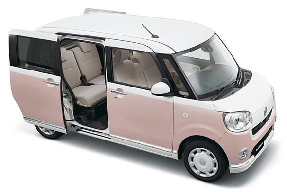 ダイハツの新型車、ムーブ・キャンバス。価格は118万8000円から166万9000円