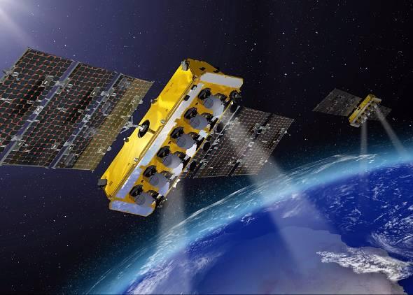 Thales Alenia Spaceの衛星(出典:同社サイト)