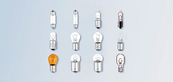 通常の電球(出典:ボッシュ製品ページ)