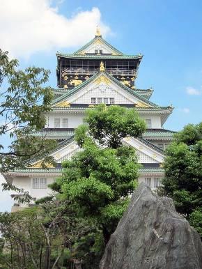 豊臣家の居城だった大阪城