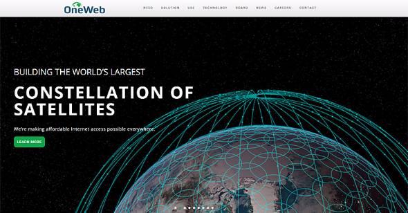 衛星インターネット網の構築を進めるOneWeb