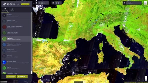 スロベニアの企業が開発したGISプラットフォーム「Sentinel Hub」