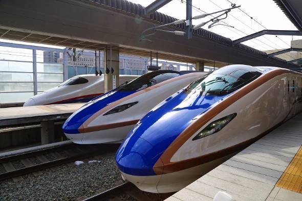 2015年3月に開業した北陸新幹線
