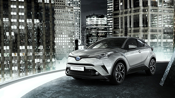 2016年末に発売するトヨタの新型SUV「C-HR」
