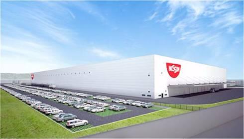 2019年12月に完成予定の関西工場(仮称)