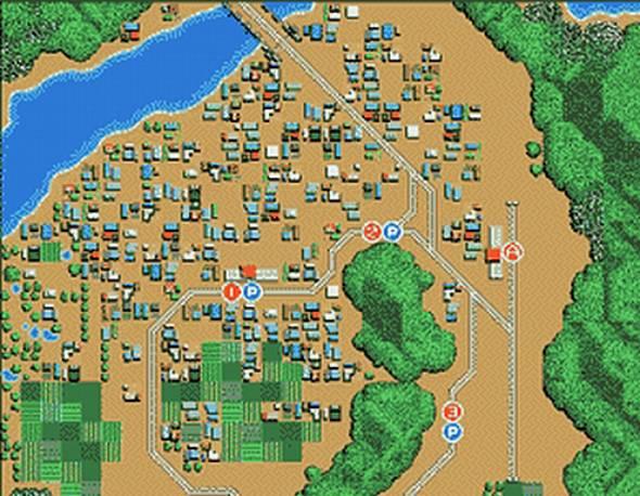 『A列車で行こう』は上空視点のパズルゲームだった(C)1994 2000 ARTDINK. All Rights Reserved.