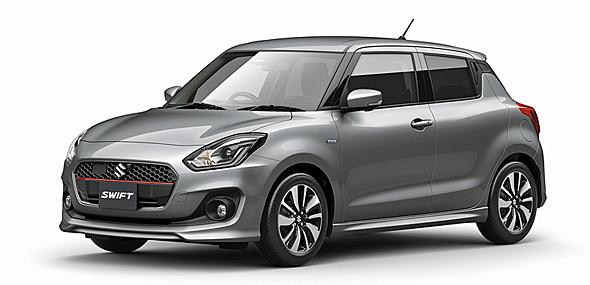 2017年早々にデビューしたスズキ新型スイフト。スズキの小型車の中軸となる重要なモデルである