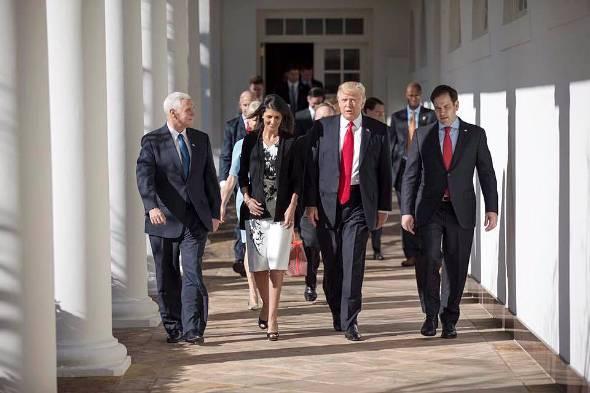 ドナルド・トランプ米国大統領(出典:同氏のFacebookページ)
