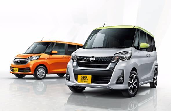 日産と三菱の合弁会社NMKVが生産する軽自動車デイズ・ルークス。兄弟車のデイズとともにここ数年の日産の国内販売を支えたモデルだ