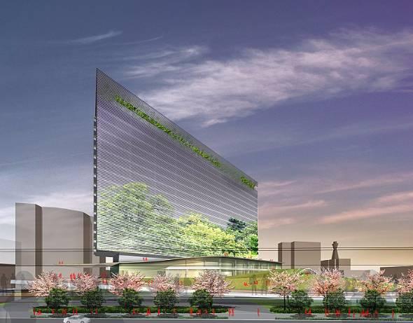 大阪市・新今宮駅前に開業予定のホテルのイメージ