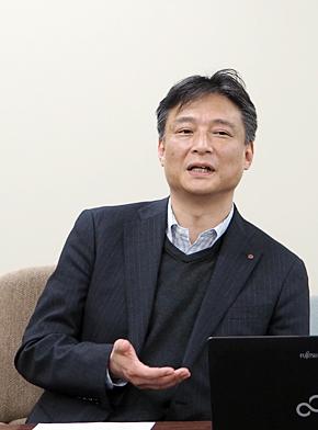朝日生命保険 情報システム企画部 営業情報設計室長の田中和生氏