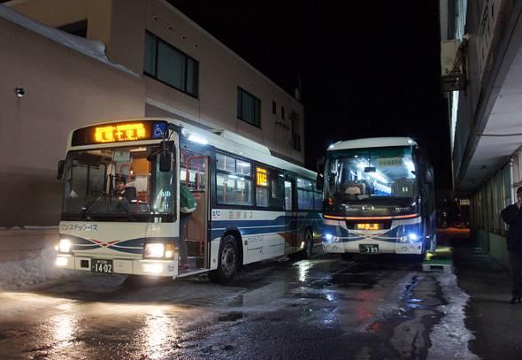 沿岸バスは国鉄羽幌線の代替バスを運行する。留萌本線廃止区間の並行路線もある