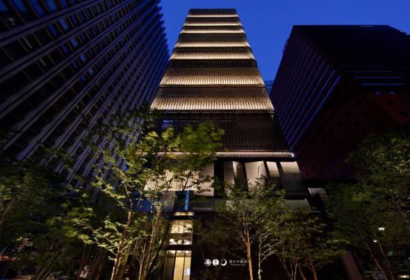 2016年7月に東京・大手町に開業した高級日本旅館「星のや東京」。宿泊者の半数以上が外国人だという