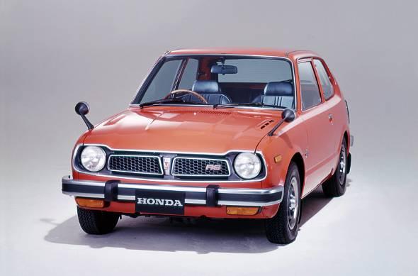 日本車は既に70年代に米国への進出をスタートしていた。写真は初代シビックのスポーツモデルRS
