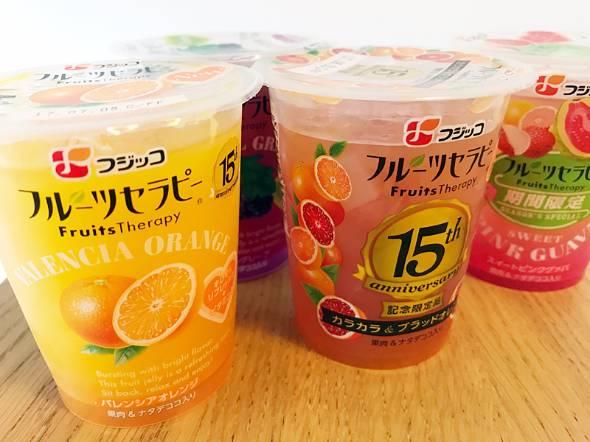 フジッコのゼリー商品「フルーツセラピー」。2002年に新規参入した後発だが……