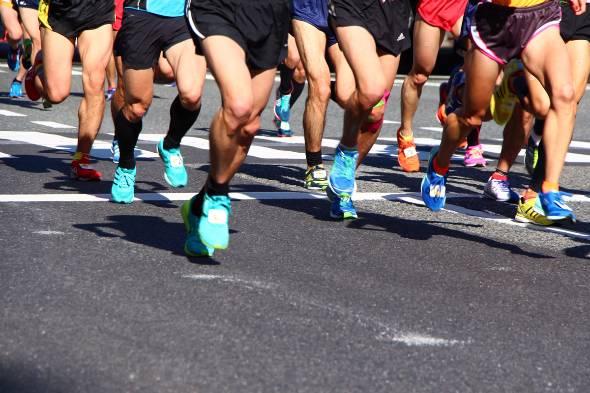 ネオスのヘルスケアサービス部は、ほぼ全員がマラソンなどのスポーツに打ち込む市民アスリート集団だ(写真はイメージです)